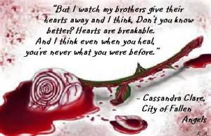 MI - Cassandra Clare, City of Fallen Angels br heart