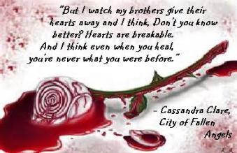 MI - Cassandra Clare, City of Fallen Angels br heart
