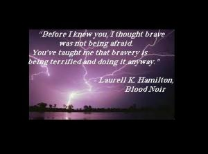 Quote ABVH blood noir brave