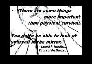 Quote ABVH circus mirror