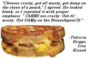 quote MT iron kissed cheese
