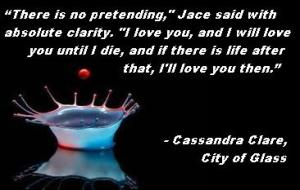 MI -  Cassandra Clare, City of Glass love