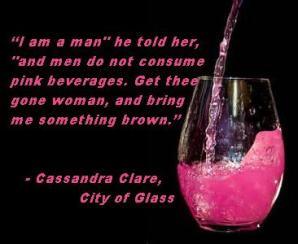 MI - Cassandra Clare, City of Glass pink